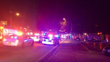 pulse club shooting - scene- Orlando police
