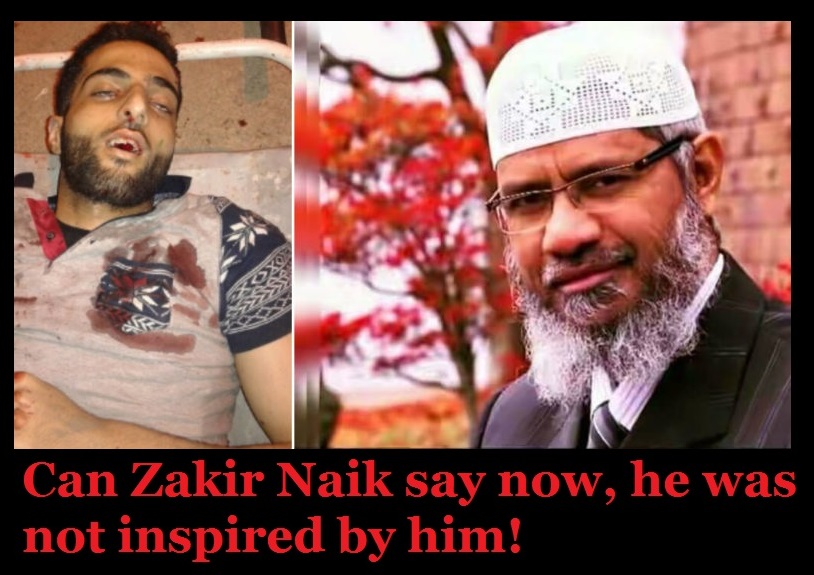 Burhan supporting Zakir Naik - Can Zakir Naik say now, he was not inspired by him
