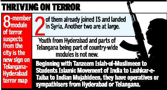 Hyderabad module - busted - The Hindu -picture.