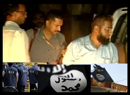 Hyderabad module - ISIS connection