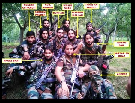 J-K - New type of young terrorists- Pandits, Bhats turning into jihadists