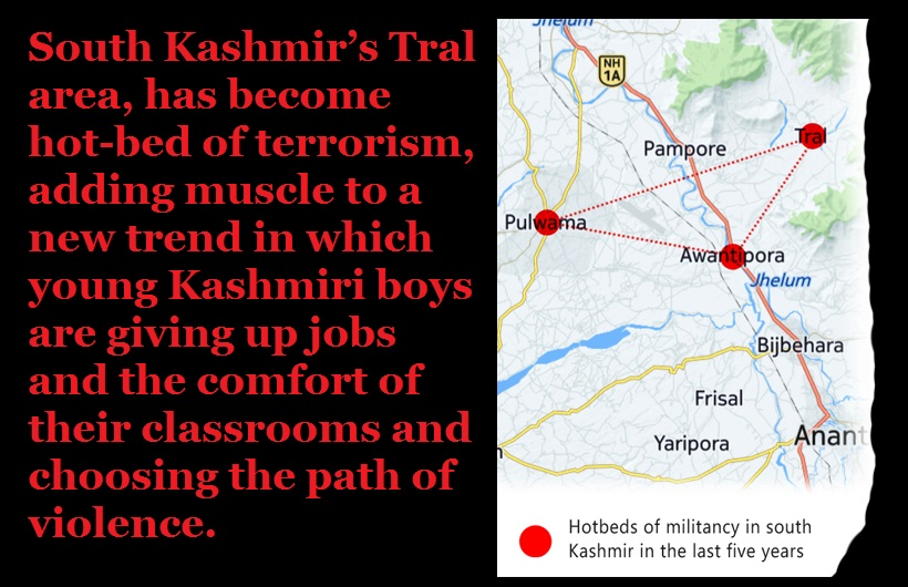 J-K - New type of young terrorists- Tral hotbed of terror