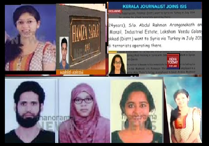 Kerala Isis nexus- confirmed- youth after conversion