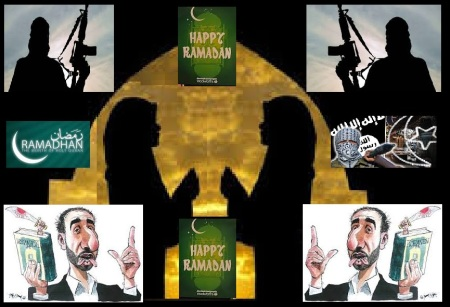Ramadan jihad terror ISIS.illustration