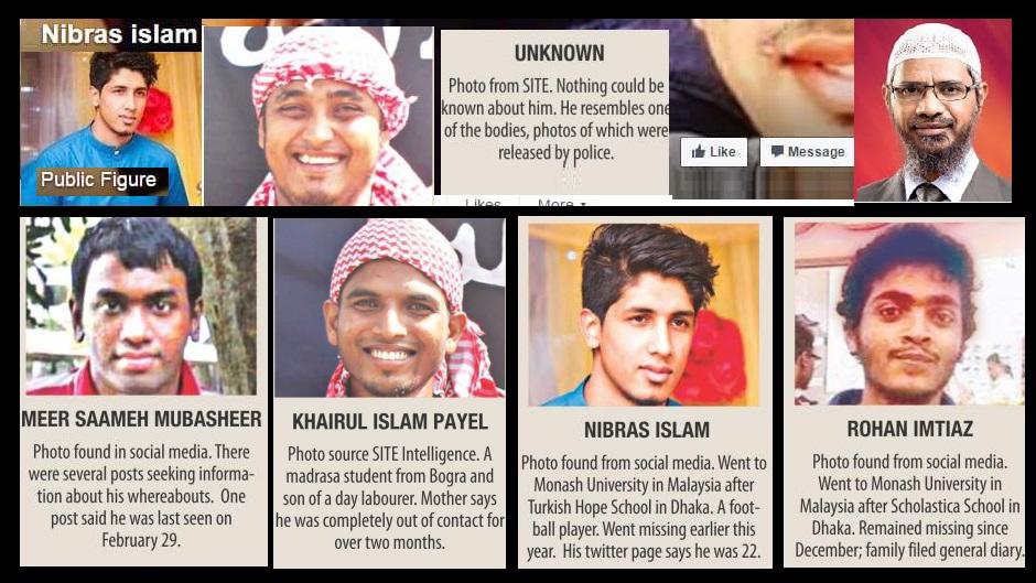 Rohan Imtiyaz and the gang 01-07-2016 insired by Zakir Naik