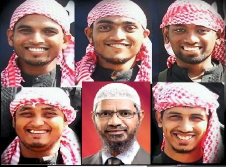 Rohan Imtiyaz and young jihadis 01-07-2016 insired by Zakir Naik.