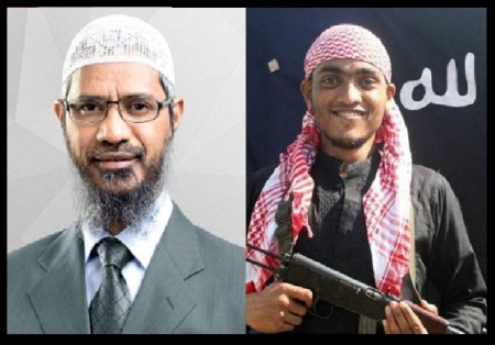 Zakir inspired terrorist in action in Bangladesh