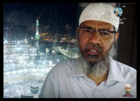 Zakir Naik denies his inspiration to Bangladesh terror