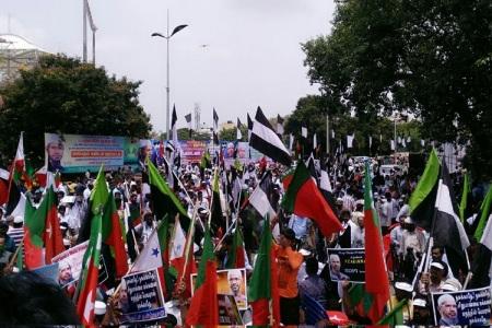 zakir naik protest chennai 3