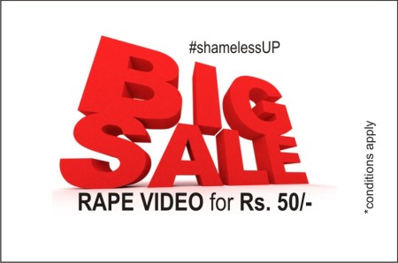 rape-video sale in UP