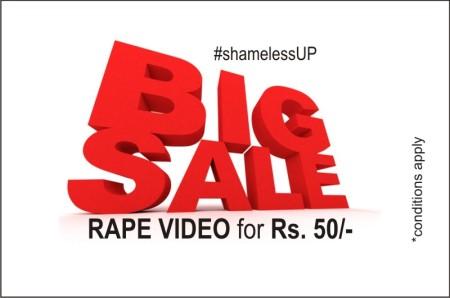 rape-video sale in UP