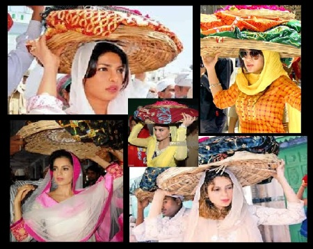 Ajmer dargah - actresses come