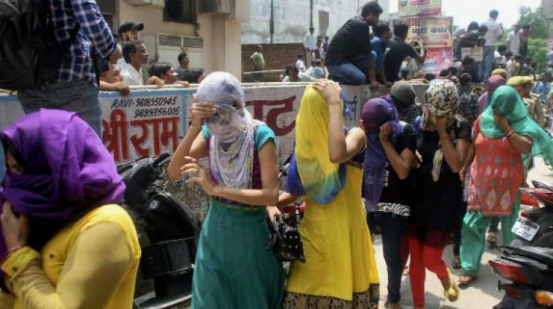 Deccan Herald photo - Delhi arrest