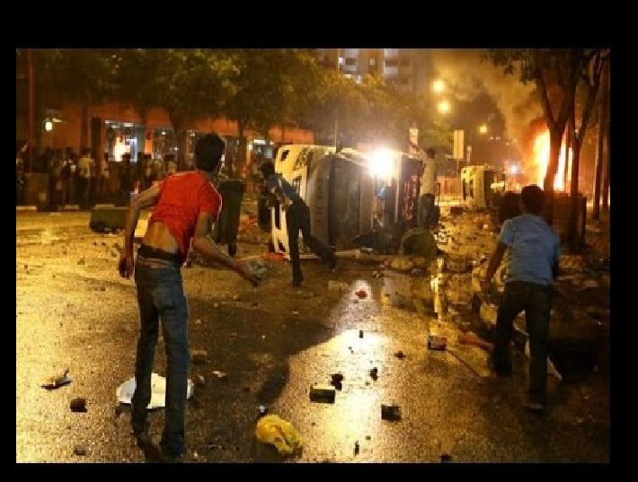 dulagarh-attacked-on-14-12-2016-rioters-in-action