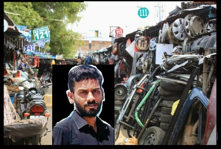 Farooq - Ukkadam scrap market