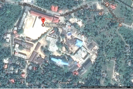 wayanad-muslim-orphanage-muttil-google-map