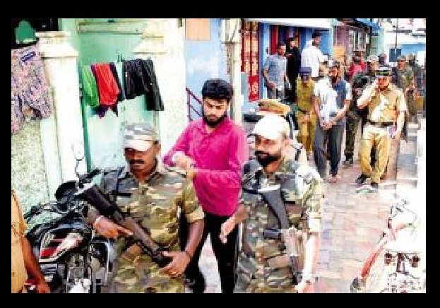 Abu Bakkar and another arrested in Madurai on 09-04-2017