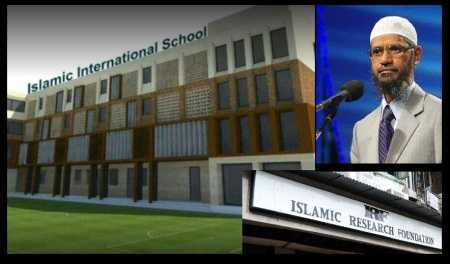Islamic International school, Injambakkam, Jakir Naik