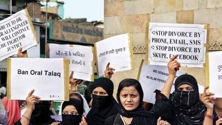 Muslim women oppose talaq etc
