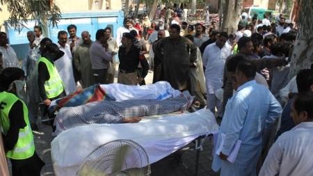 Sargohda - bodies taken out