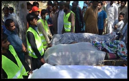 Sargohda - dargah - victim bodies taken out