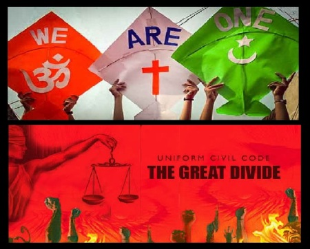 We are one - UCC - divide
