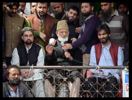 Kashmir separatist leaders aiding and abeting terror