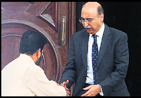 Shabir sha meeting Abdul Basit - August .2014