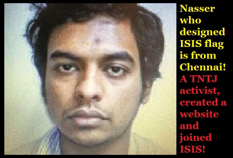 Nasser who designed ISIS flag is from Chennai