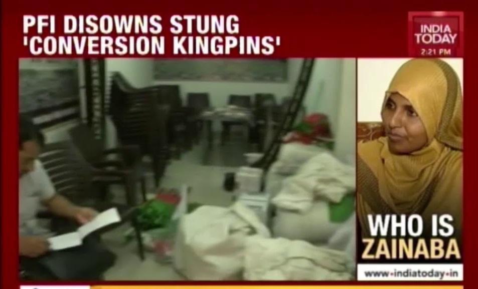 PFI disowns stung conversions kingpins- India today