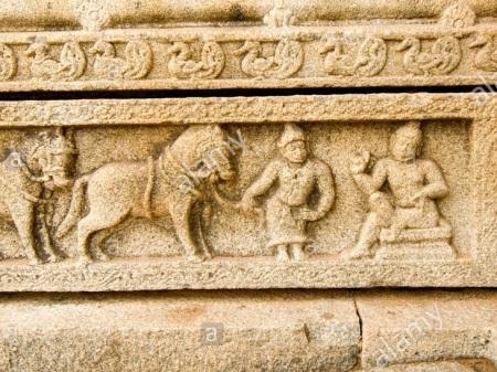 Horses imported Vijayanagar-Persian trader