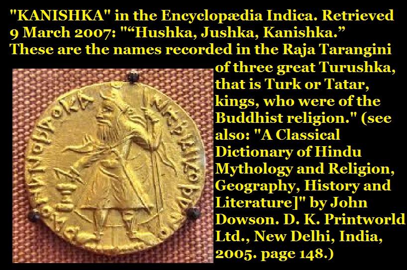 Kushanas were turushkas
