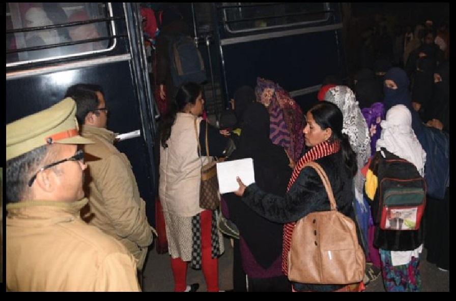 Lucknow Madrassa- police raid-Kaji arrested-girls rescued