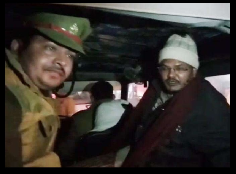 Lucknow Madrassa- police raid-Kaji arrested