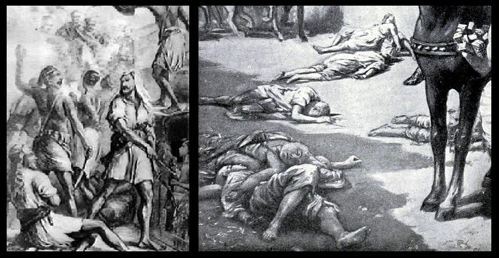 Malikafur attack -atrocities- imaginary