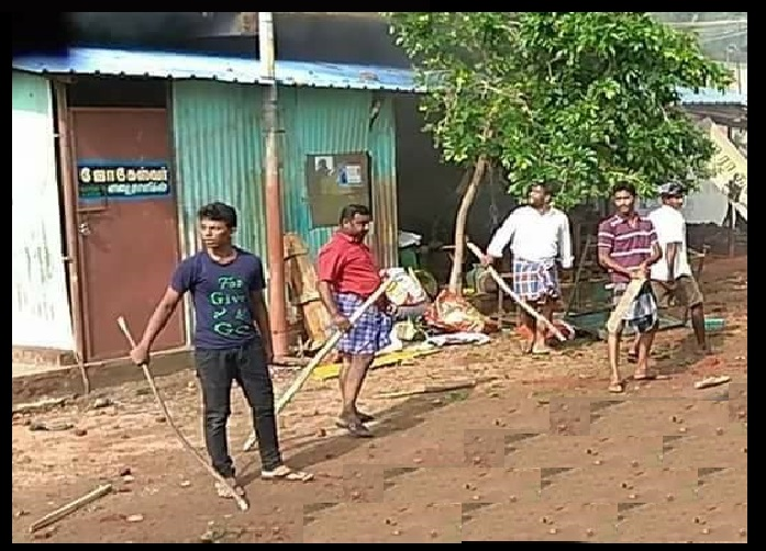 Periyakulam, Muslims attack Hindu houses-5