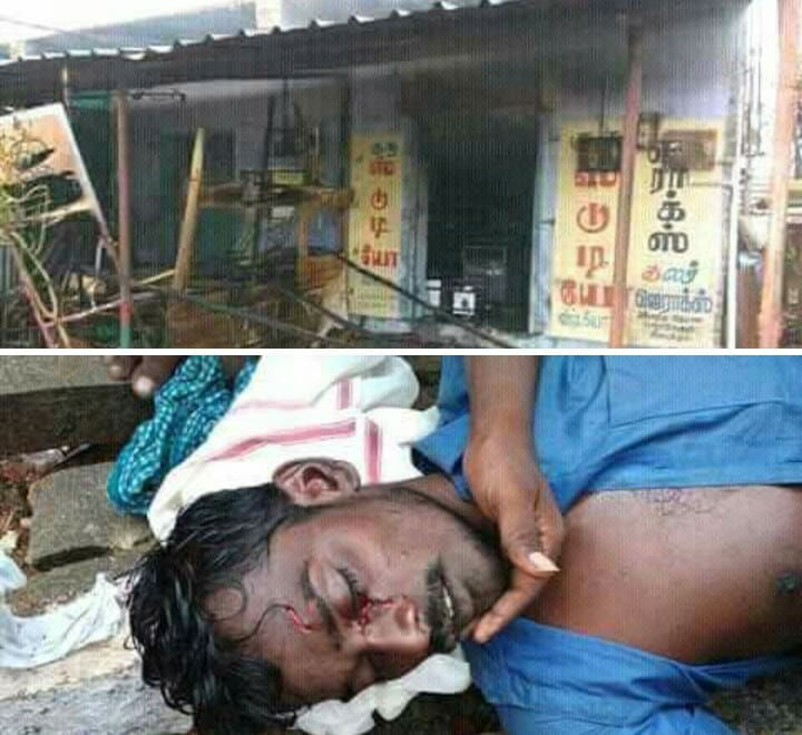Periyakulam, Muslims attack Hindu houses-6