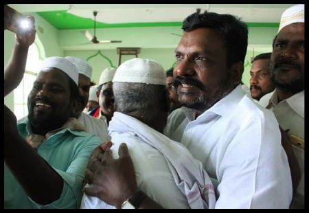 Thiruma VALmeets Muslims-at Bomminaicketpatti- 12-05-2018