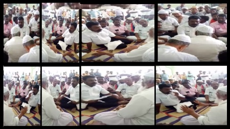 Thiruma-with Muslims sitting on the floor obediently-12-05-2018