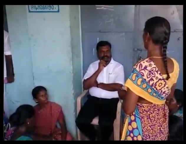 Tiruma meets affected-at Bomminaicketpatti -ABR Mahal -12-05-2018