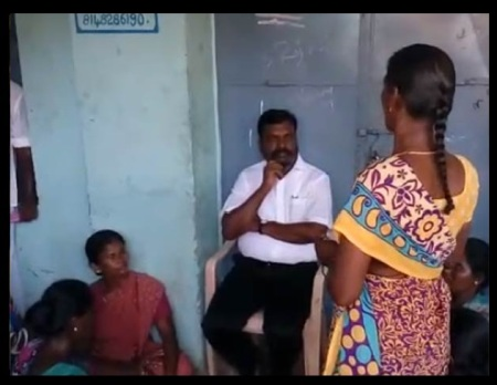 Tiruma meets affected-at Bomminaicketpatti -ABR Mahal -12-05-2018
