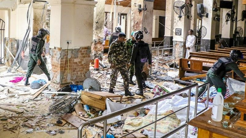 Sri Lankan blast, the church