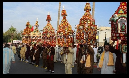 Morocco, Bara Rabi ul Awwal procession