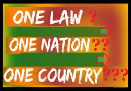 One nation, country, law